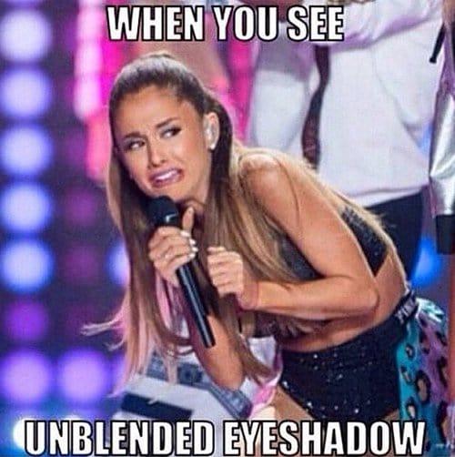 Unblended Eyeshadow