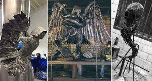 Welded Sculptures Metal David Madero