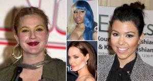 Worst Celebrity Make Up Blunders