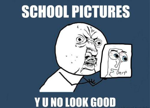 Y U No Look Good