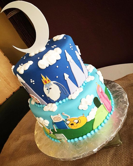 adventure-time-cakes-outside