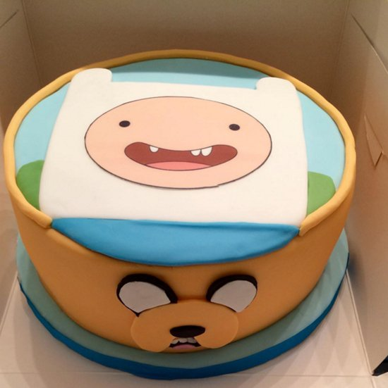 Cake Design Adventure Time : 12  Adventure Time  Cakes That Are Almost Too Cute To Eat