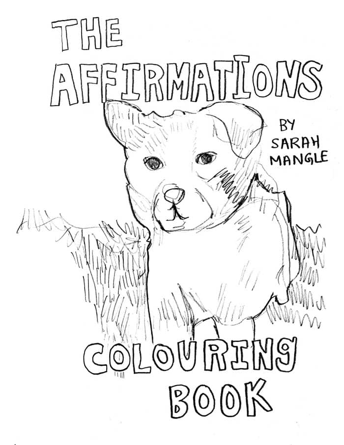 affirmations coloring