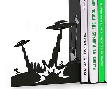 alien invasion bookends metal