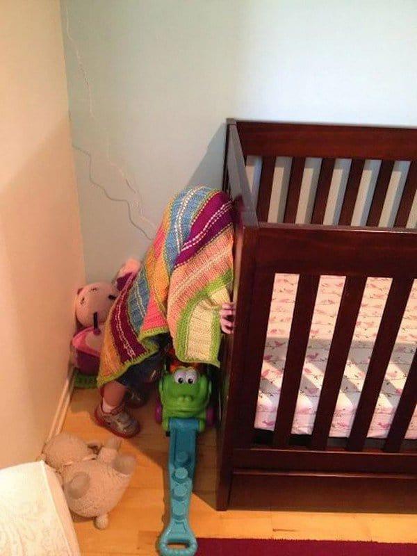 baby hide blanket