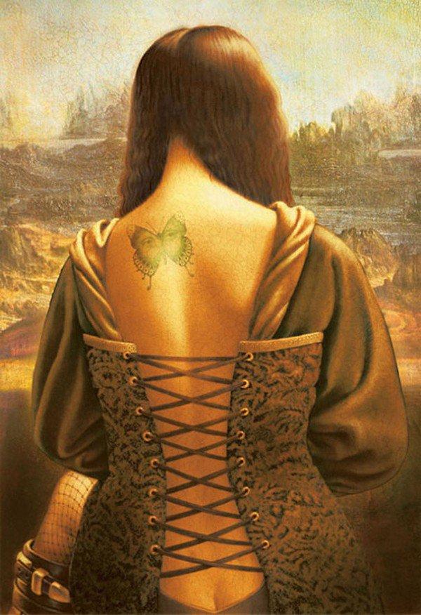 Da Vinci painted naked Mona Lisa
