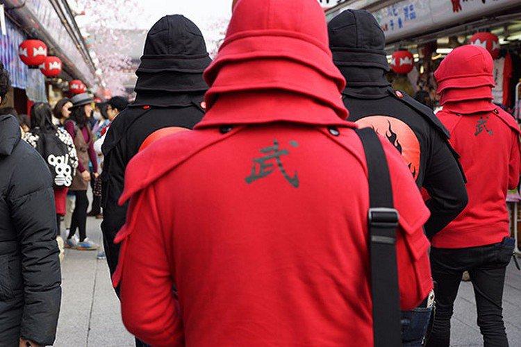 back samurais