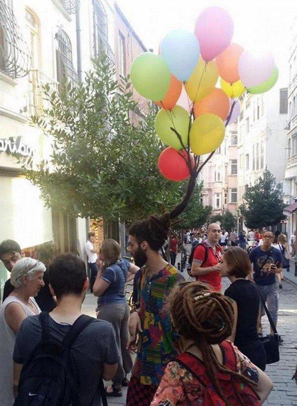 balloon dreads