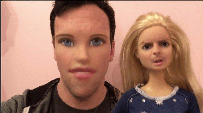 barbie guy swap