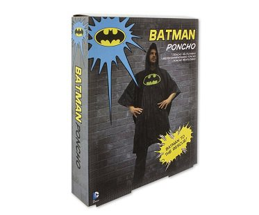 batman poncho box