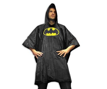 batman poncho waterproof