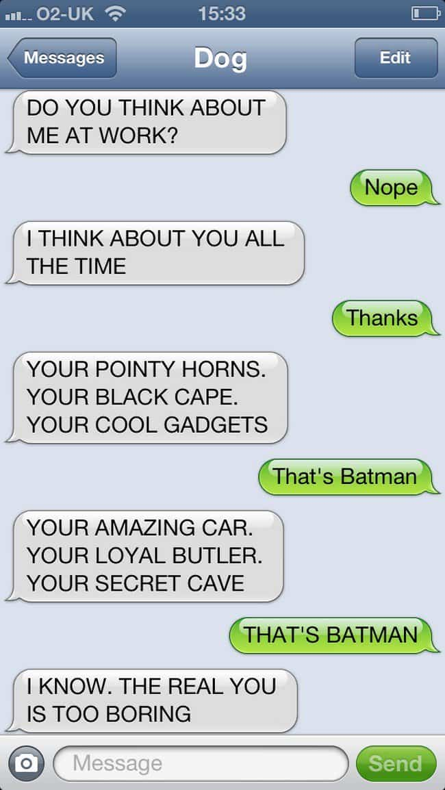 batman text