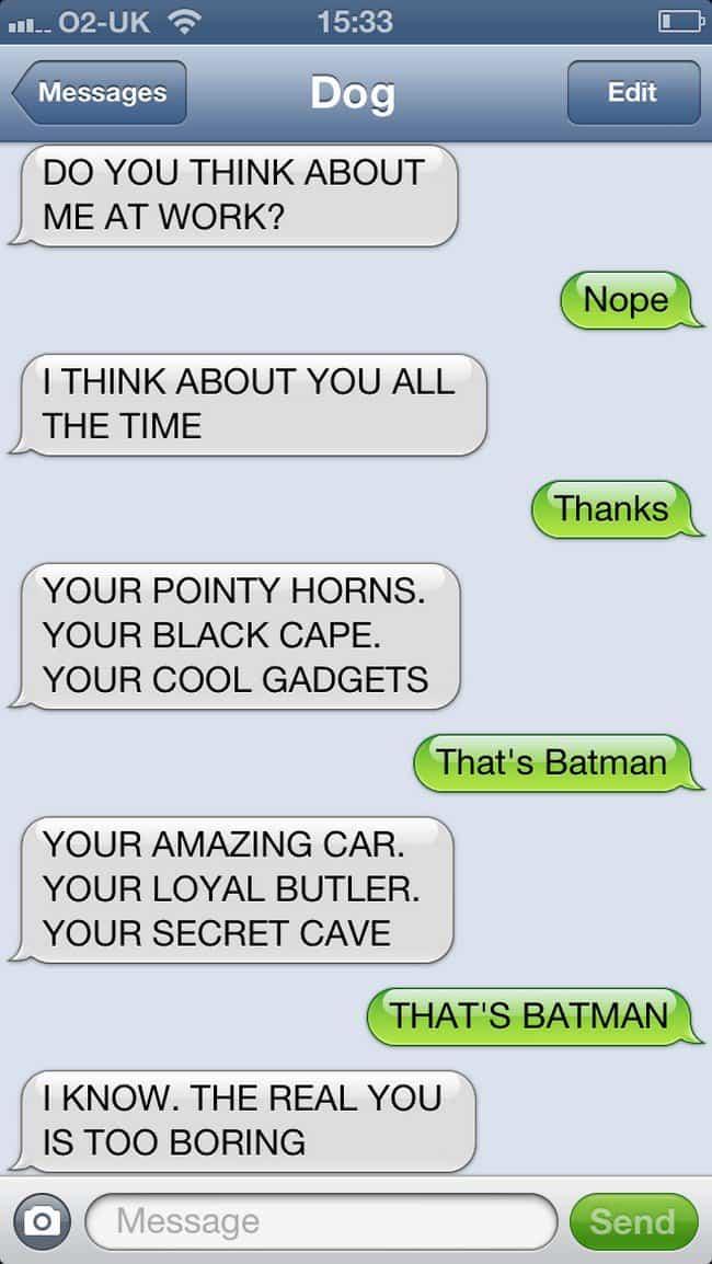 batman text