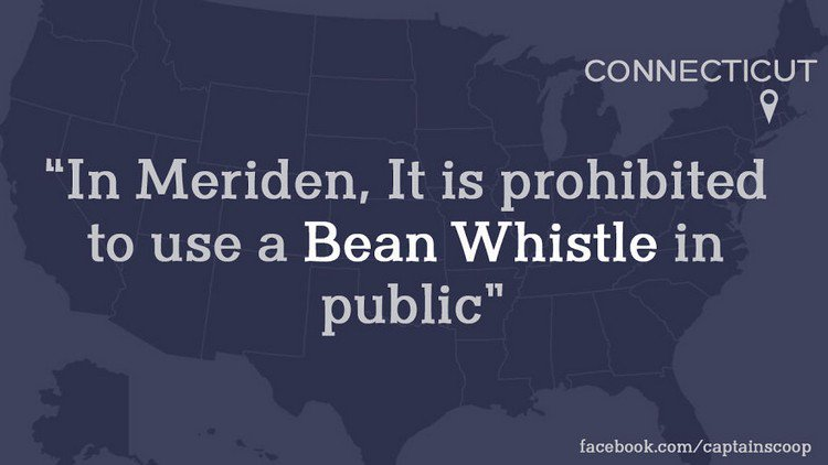 bean whistle law