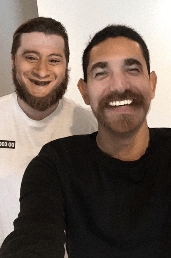 beard swap