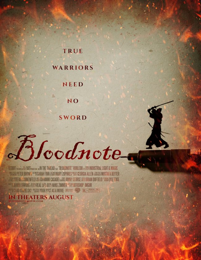 bloodnote poster