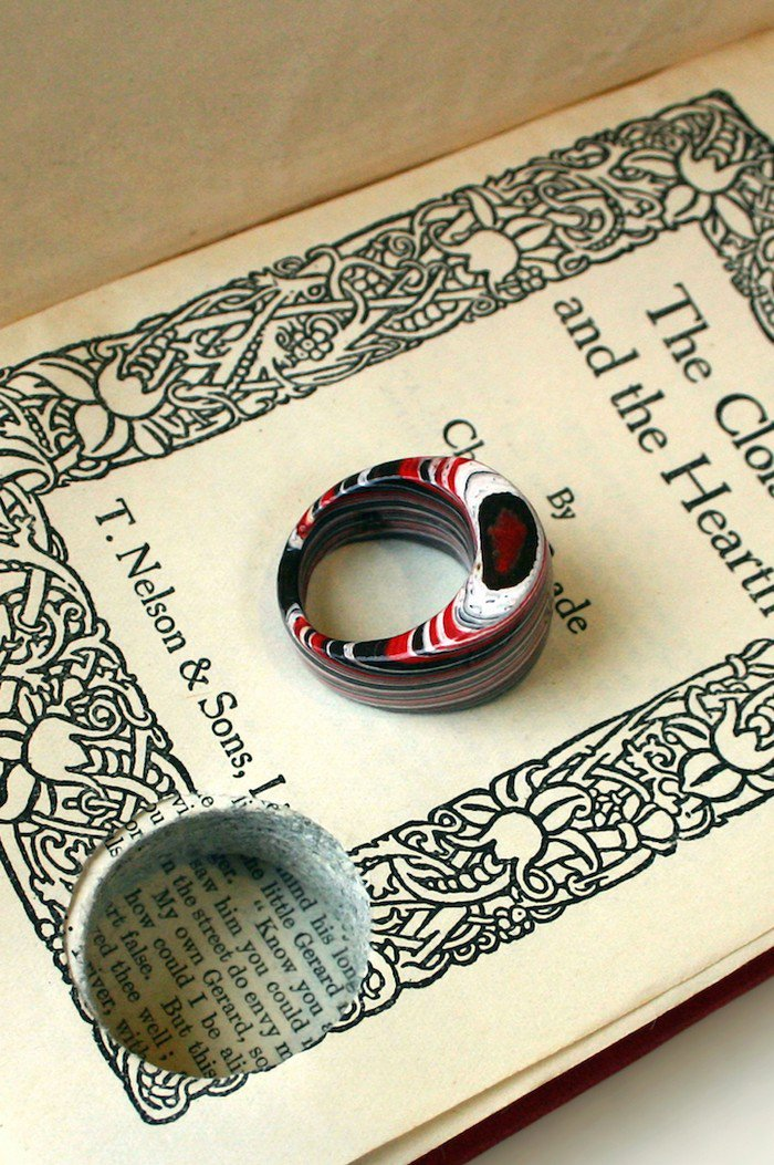 book and ring