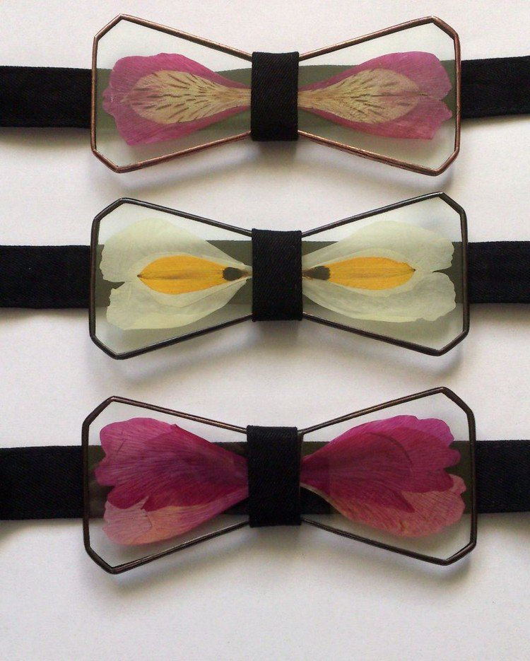 bowties flowers