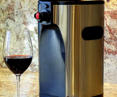 box wine dispenser glass