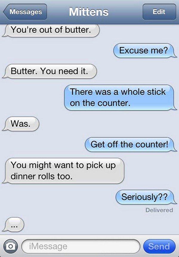 butter text