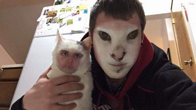 cat guy swap