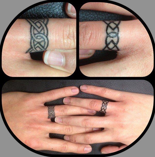 Irish Wedding Ring Tattoos: 12 Gorgeous Engagement Tattoos That Make Diamonds Look