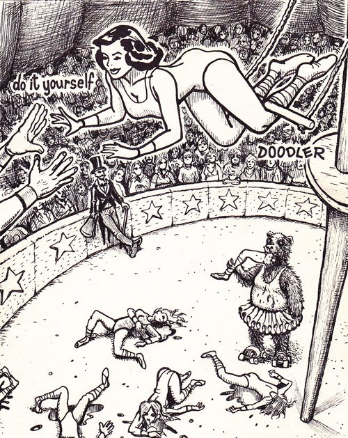 circus woman