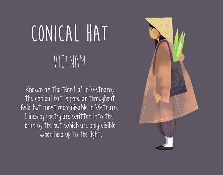 conical vietnam
