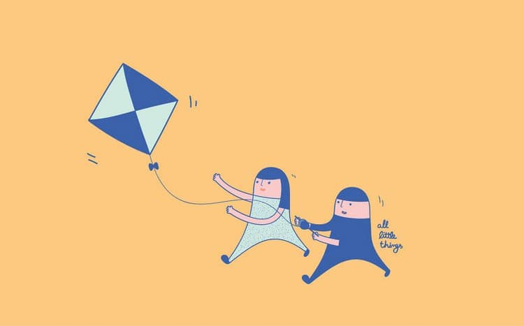 couple kite