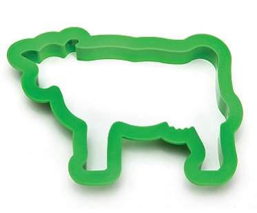 cow sandwich cutter bread