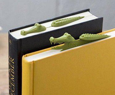 crocodile bookmark