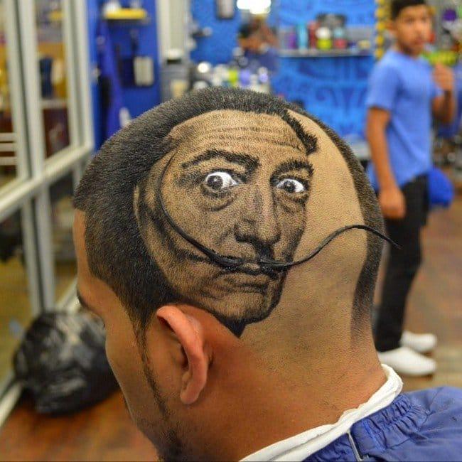 dali head