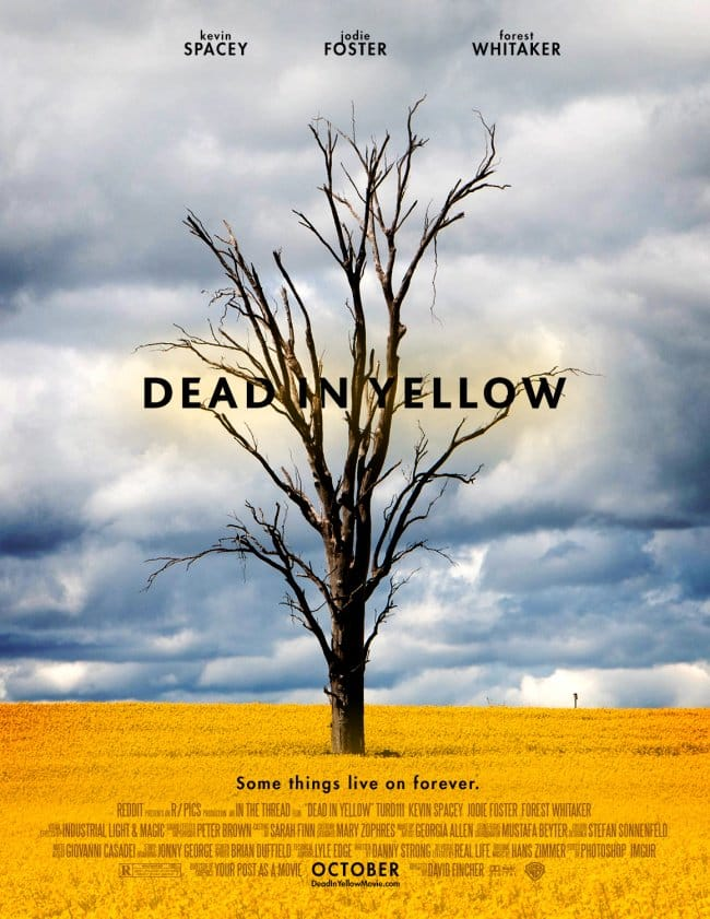 dead yellow poster