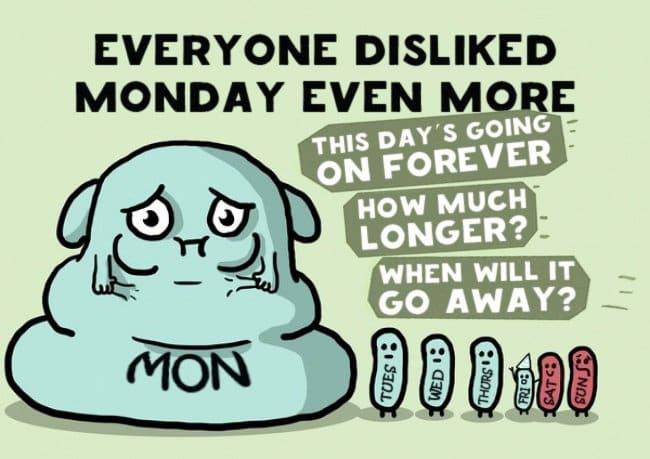 dislike monday