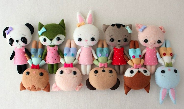 dolls-animals