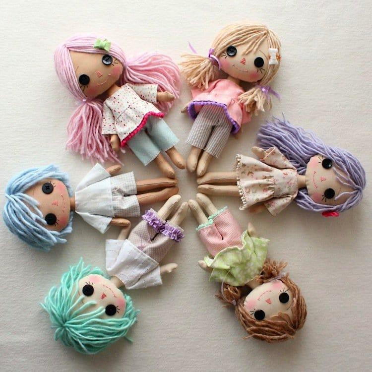 dolls-hair