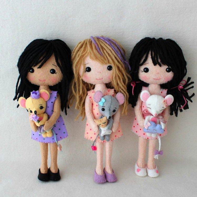 dolls-trio