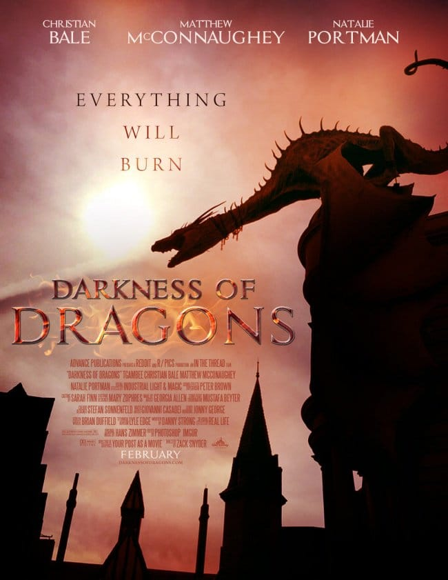 dragons poster