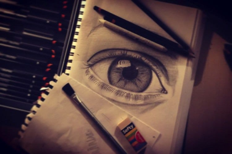drawing-eye