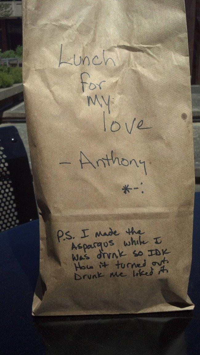 drunk lunch bag