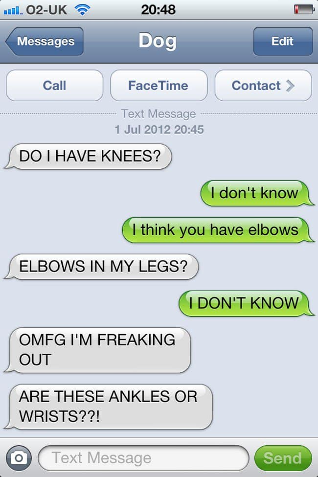 elbows text