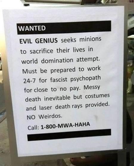 evil genius ad