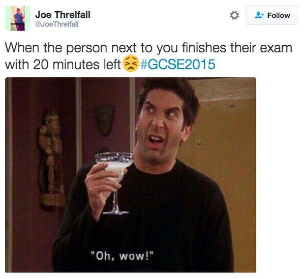 exam finish