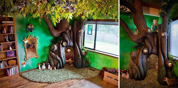 fairytale treehouse