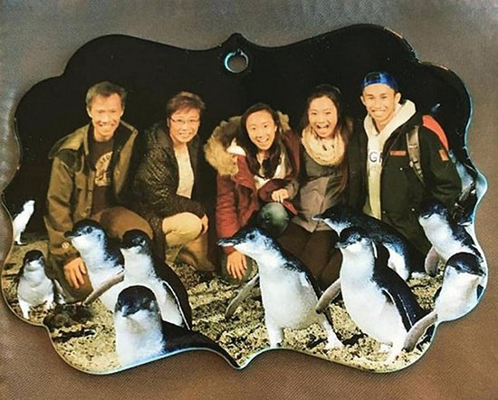 family-penguins ornament mix up