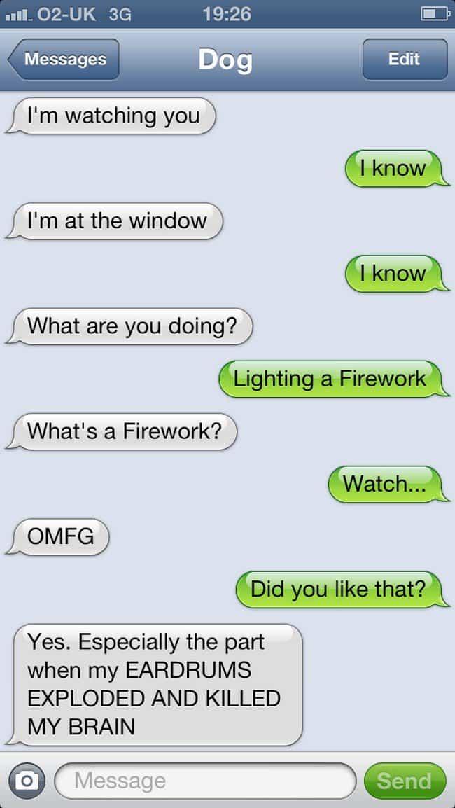 firework text