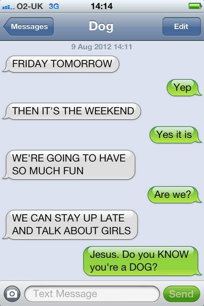 friday text