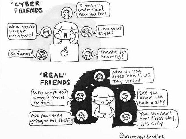 friends introvert