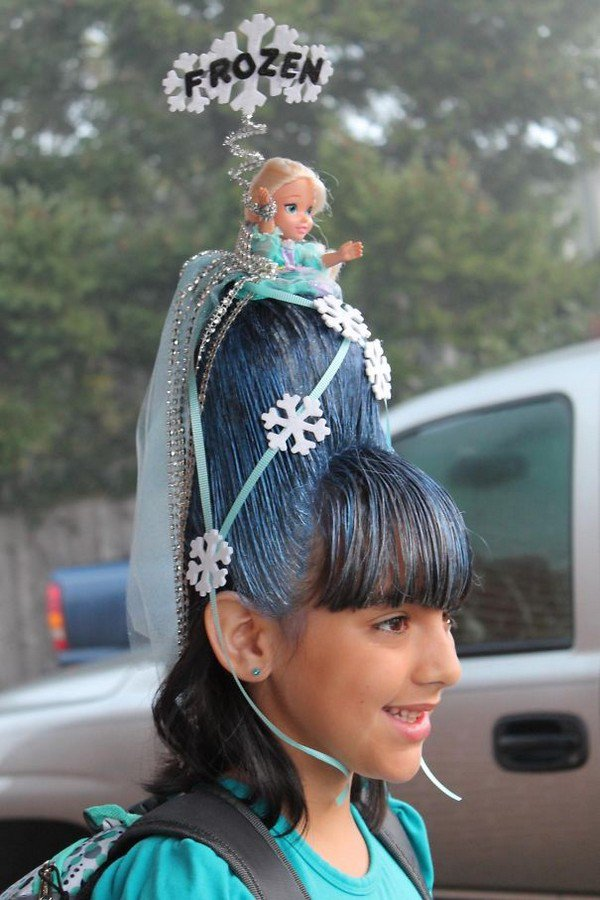 14 Kids That Have Certainly Won At 'Crazy Hair Day' - Part 2