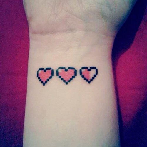 geeky-tattoos-hearts-legend-of-zelda